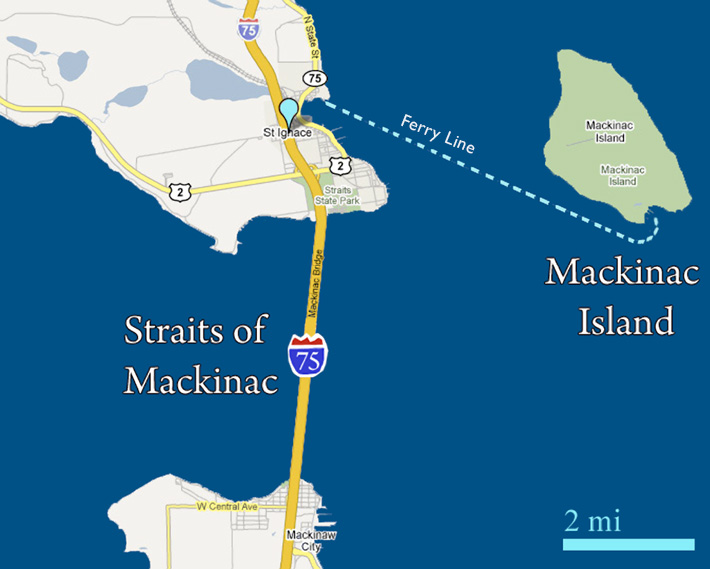 St. Ignance Michigan's Upper Peninsula Gateway Campground to ... on sanilac petroglyphs trail map, crawford county trail map, cleveland trail map, ann arbor trail map, mount pleasant trail map, columbus trail map, milford trail map, calumet trail map, rochester trail map, kent island trail map, farmington trail map, marquette trail map, north manitou trail map, howell island trail map, lincoln park trail map, tettegouche state park trail map, houghton lake trail map, harbor springs trail map, kearsarge trail map, coldwater trail map,